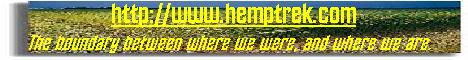 Hemp Trek main page
